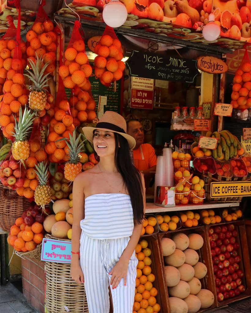 israel fruit stand