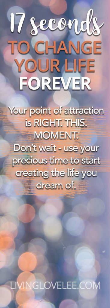 17 seconds manifestation